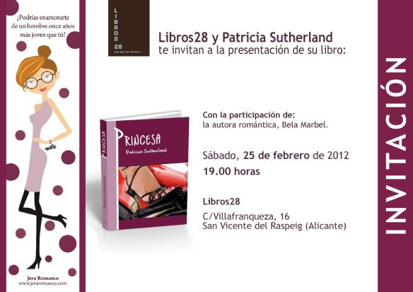 1ª Presentación de Princesa: Alicante.