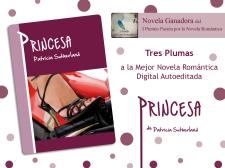Princesa, ganadora del I Premio Pasión por la Novela Romántica 2012