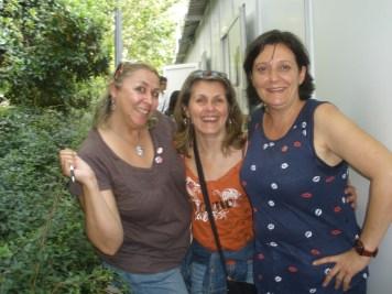 Con mis chicas, Megan y Olivia.
