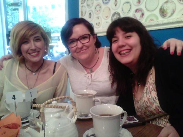 Ximena, Nínive y Sheila o ... ¡las que liaron el cotarro!