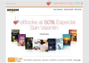 Ebooks al 50% Especial San Valentin