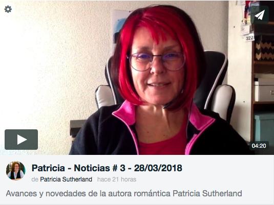 ¡Patricia en vídeo!